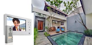 Jual video intercom untuk villa