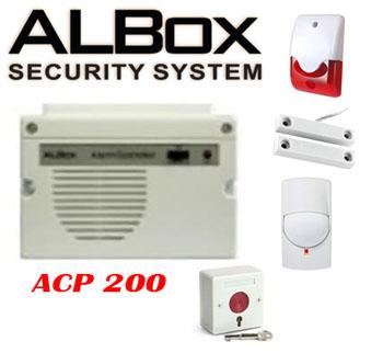 alboc acp200 security alarm untuk rumah dan toko